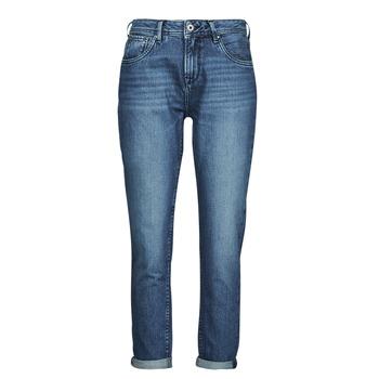 Odjeća Žene  Traperice ravnog kroja Pepe jeans VIOLET Blue