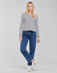 Odjeća Žene  Traperice ravnog kroja Pepe jeans DOVER Blue