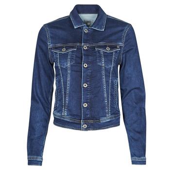Odjeća Žene  Traper jakne Pepe jeans CORE JACKET Blue