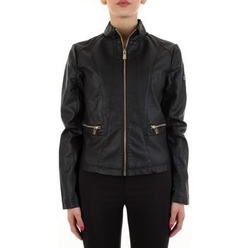 Odjeća Žene  Kožne i sintetičke jakne Yes Zee J475-G100 Nero