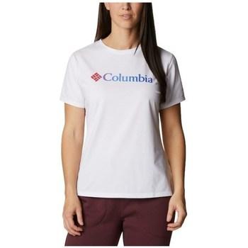 Odjeća Žene  Majice kratkih rukava Columbia Sun Trek W Graphic Tee Bijela