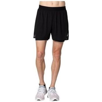 Odjeća Muškarci  Bermude i kratke hlače Asics Ventilate 2N1 5IN Crna
