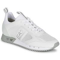 Obuća Niske tenisice Emporio Armani EA7 BLACK&WHITE LACES Bijela