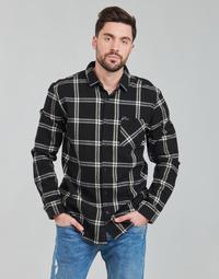 Odjeća Muškarci  Košulje dugih rukava Rip Curl CHECKED OUT L/S FLANNEL Crna