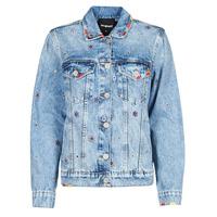 Odjeća Žene  Traper jakne Desigual JULIETA Blue