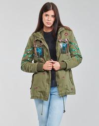 Odjeća Žene  Parke Desigual FLIX Kaki