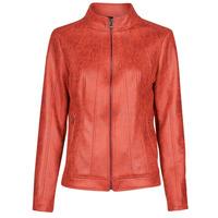 Odjeća Žene  Kožne i sintetičke jakne Desigual COMARUGA Red
