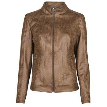 Odjeća Žene  Kožne i sintetičke jakne Desigual COMARUGA Smeđa