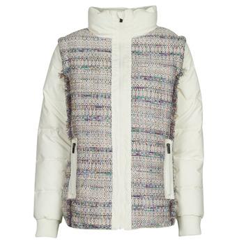Odjeća Žene  Pernate jakne Desigual STORNI Bijela