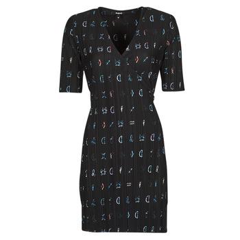 Odjeća Žene  Kratke haljine Desigual SOLE Crna