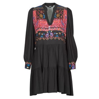 Odjeća Žene  Kratke haljine Desigual SOLSONA Crna