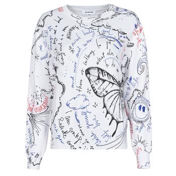 Odjeća Žene  Puloveri Desigual BOSTON Bijela