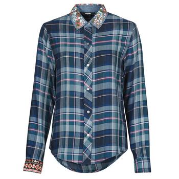 Odjeća Žene  Košulje i bluze Desigual SUSAN SONTAG Blue