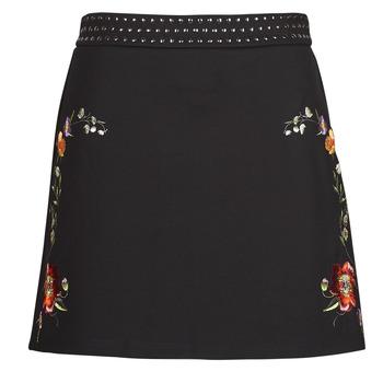 Odjeća Žene  Suknje Desigual INAYA Crna