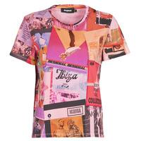 Odjeća Žene  Majice kratkih rukava Desigual PROCLAIM Multicolour