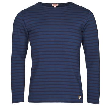 Odjeća Muškarci  Majice dugih rukava Armor Lux MARINIERE HOUAT HRX Blue