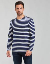 Odjeća Muškarci  Majice dugih rukava Armor Lux MARINIERES RUSTIQUE BIO GA1 Blue