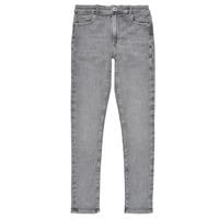 Odjeća Djevojčica Skinny traperice Pepe jeans PIXLETTE HIGH Siva