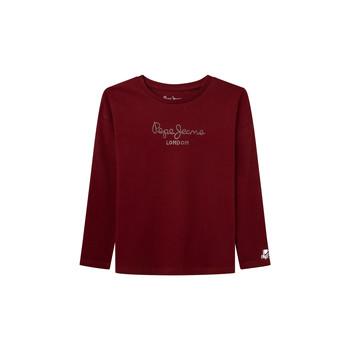 Odjeća Djevojčica Majice dugih rukava Pepe jeans NURIA LS Red
