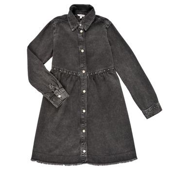 Odjeća Djevojčica Kratke haljine Pepe jeans FLORIDA DRESS Crna