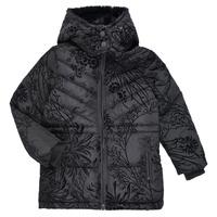 Odjeća Djevojčica Pernate jakne Desigual MOSELLE Crna