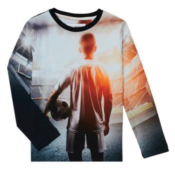 Odjeća Dječak  Majice dugih rukava Desigual FOOTBALL Siva