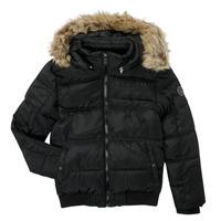 Odjeća Dječak  Pernate jakne Kaporal JOMIR Crna