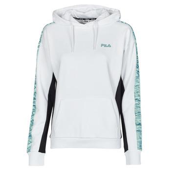 Odjeća Žene  Sportske majice Fila NAGE HOODY Bijela
