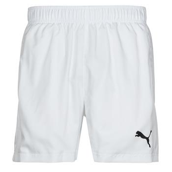Odjeća Muškarci  Bermude i kratke hlače Puma ESS ACTIVE WOVEN SHORT Bijela