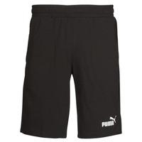 Odjeća Muškarci  Bermude i kratke hlače Puma ESS JERSEY SHORT Crna