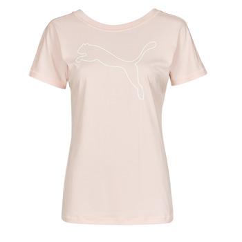 Odjeća Žene  Majice kratkih rukava Puma TRAIN FAVORITE JERSEY CAT TEE Ružičasta