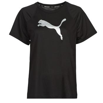 Odjeća Žene  Majice kratkih rukava Puma EVOSTRIPE TEE Crna