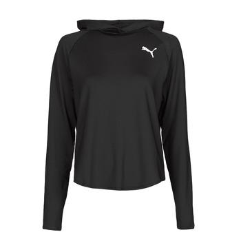 Odjeća Žene  Sportske majice Puma ACTIVE HOODIE Crna