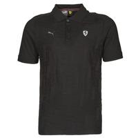 Odjeća Muškarci  Polo majice kratkih rukava Puma FERRARI STYLE JACQUARD POLO Crna