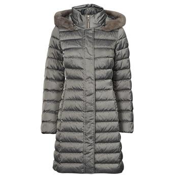 Odjeća Žene  Pernate jakne Geox W BETTANIE LONG JKT Srebrna