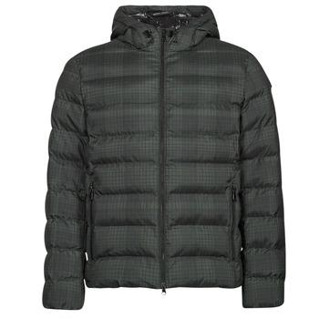 Odjeća Muškarci  Pernate jakne Geox SANDFORD Crna / Kaki