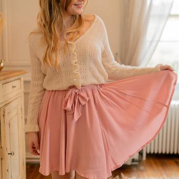 Odjeća Žene  Suknje Céleste EGLANTINE Ružičasta