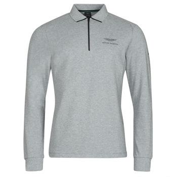Odjeća Muškarci  Polo majice dugih rukava Hackett HM550878 Siva