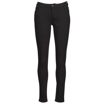Odjeća Žene  Hlače s pet džepova Morgan PETRA Crna