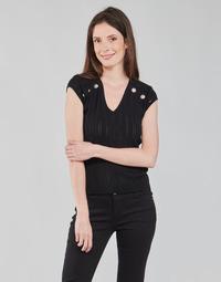 Odjeća Žene  Topovi i bluze Morgan MDIDO Crna