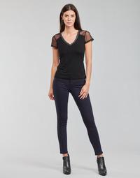 Odjeća Žene  Hlače s pet džepova Morgan PETRA Blue