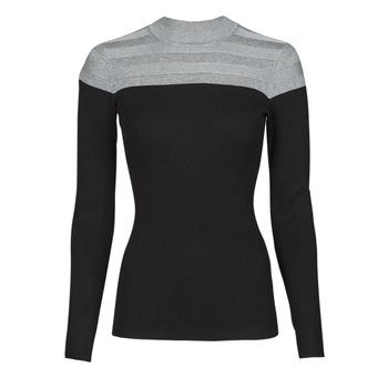 Odjeća Žene  Puloveri Morgan MICO Siva / Crna