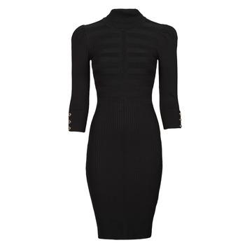 Odjeća Žene  Kratke haljine Morgan RMTO Crna