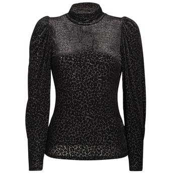 Odjeća Žene  Majice dugih rukava Morgan TISPI Crna