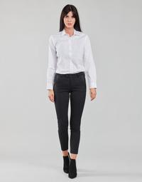 Odjeća Žene  Hlače s pet džepova Freeman T.Porter TESSA CLASSICO Crna