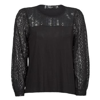 Odjeća Žene  Majice dugih rukava Deeluxe FRIDA Crna