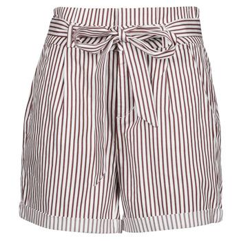 Odjeća Žene  Bermude i kratke hlače Vero Moda VMEVA Bijela / Smeđa