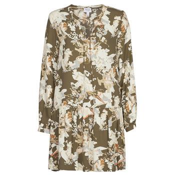 Odjeća Žene  Kratke haljine Vero Moda VMSAGA Kaki / Bijela