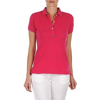 Odjeća Žene  Polo majice kratkih rukava Napapijri ELINDA Ružičasta
