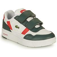Obuća Djeca Niske tenisice Lacoste T-CLIP 0121 2 SUI Bijela / Zelena / Red